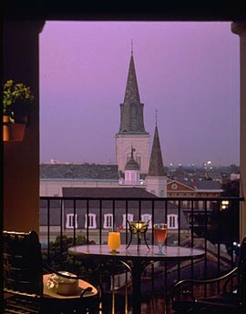 Guest View of Downtown New Orleans at The Omni Royal